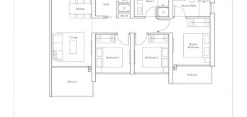avenue-south-residence-3-bedroom-premium-CP1-PH-1302sf