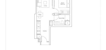 avenue-south-residence-horizon-1-bedroom-A1-527sf