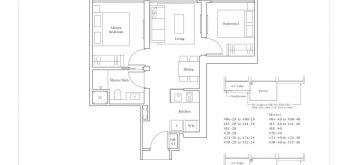 avenue-south-residence-horizon-2-bedroom-B1-2-657sf