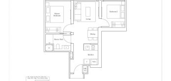 avenue-south-residence-horizon-2-bedroom-B1-657sf
