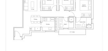avenue-south-residence-horizon-3-bedroom-C1-947sf