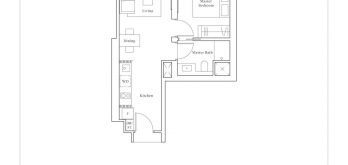 avenue-south-residence-peak-1-bedroom-A1-527sf