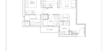 avenue-south-residence-peak-2-bedroom-premium-BP3-732sf