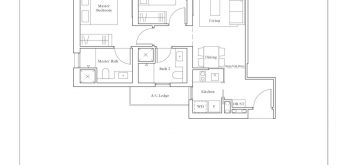 avenue-south-residence-peak-2-bedroom-premium-BP3-PH-883sf