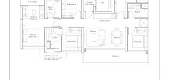 avenue-south-residence-peak-4-bedroom-premium-DP1-1496sf