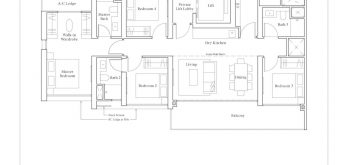 Avenue-South-4-Bedroom-floor-plan